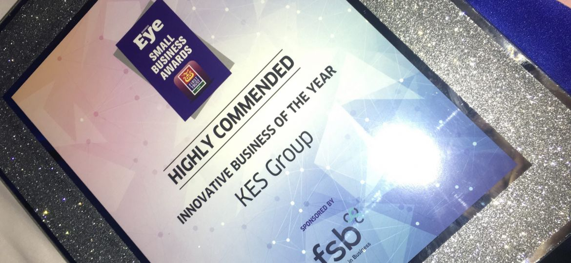 KES Group Innovative Business of the Year 2018 Award