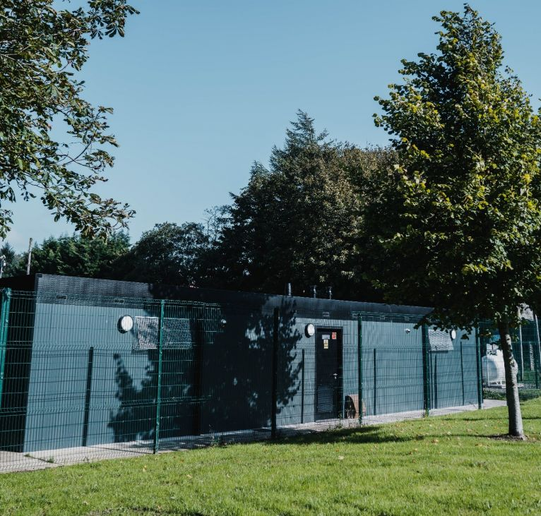 KES Group Prefabricated Changing Facilities wide shot