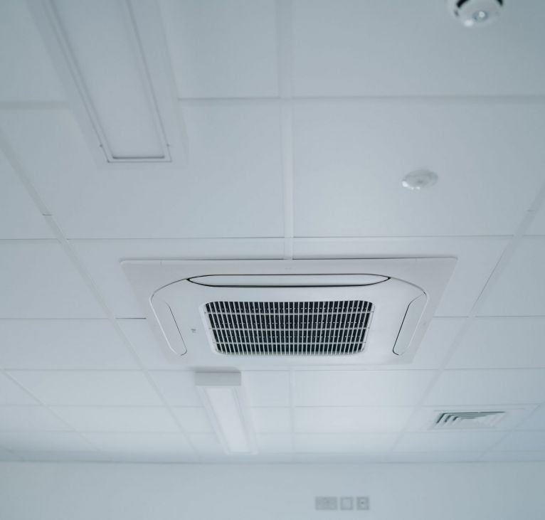 Modular office air conditioning vent
