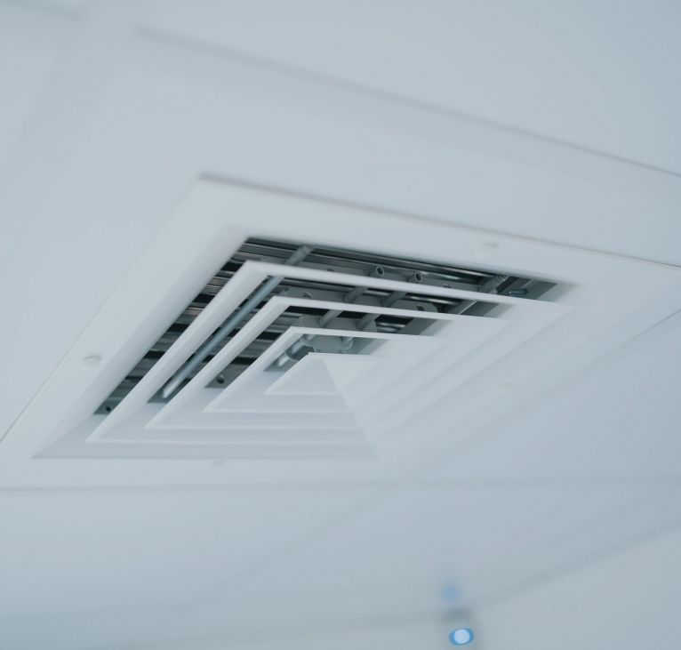 Air conditioning vent modular office