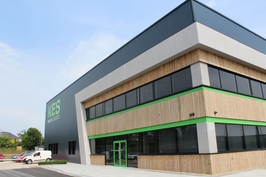 The HQ of KES Group, based in Strabane, County Tyrone.