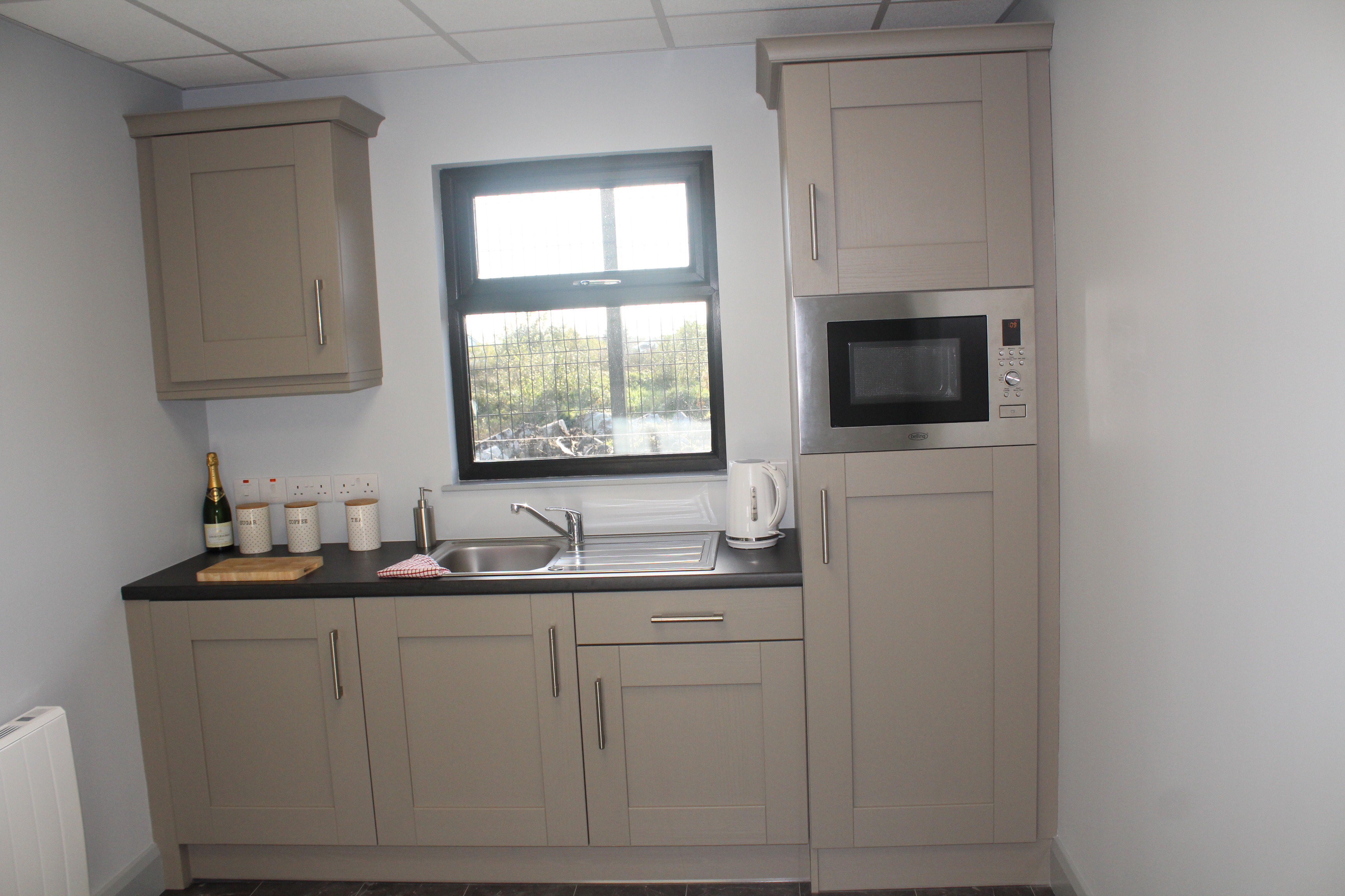 KES Group Modular Construction modular office kitchen