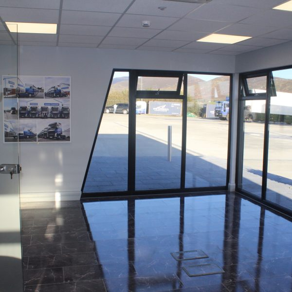 KES Group modular office double glazing windows and glass doors