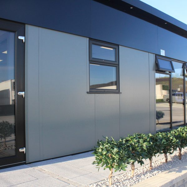 KES Group Modular Construction Company modern office building