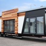 Luxury modular office building delivery