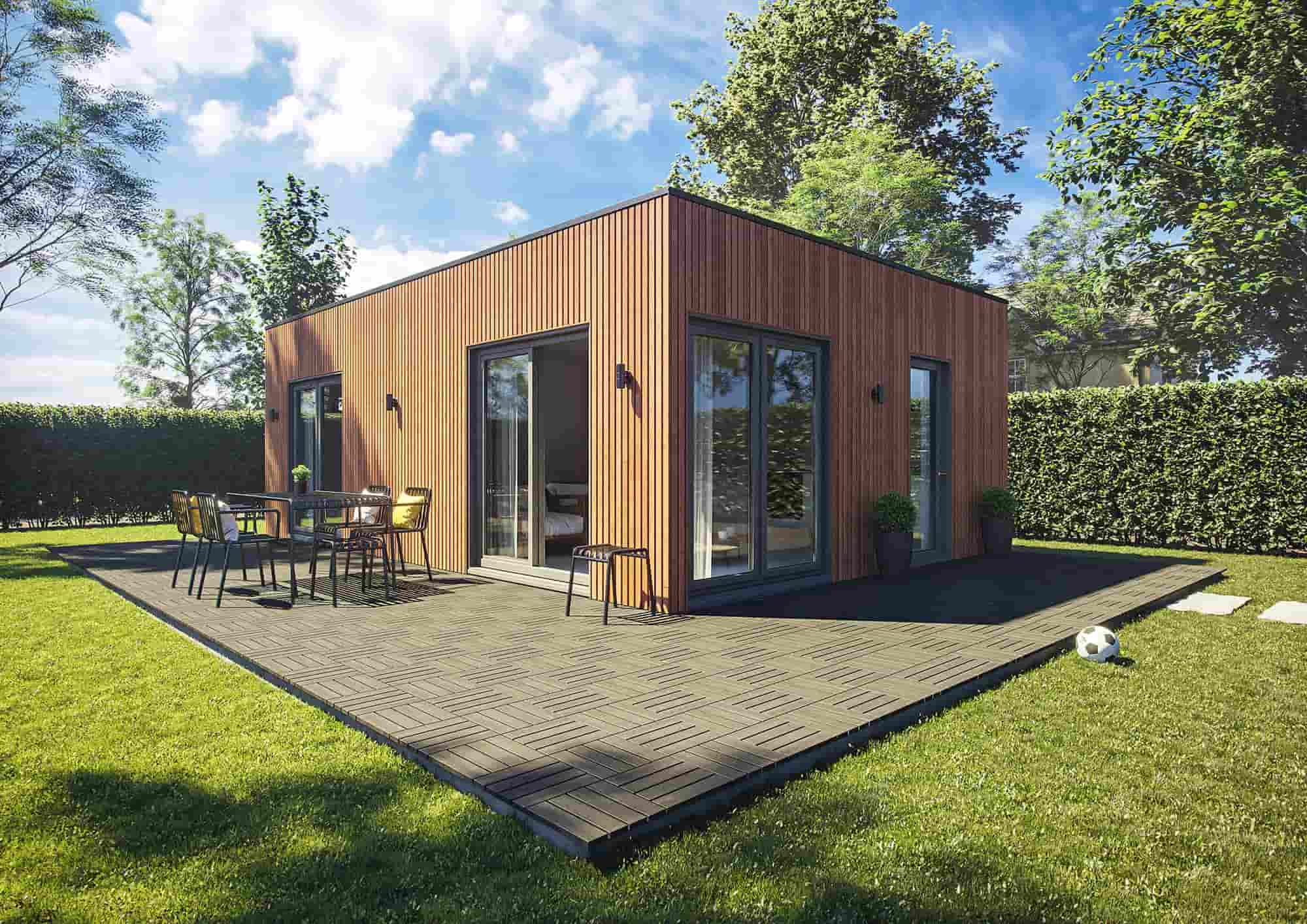 The perfect Garden Annexe