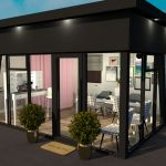 KES Group modular building company beauty salon