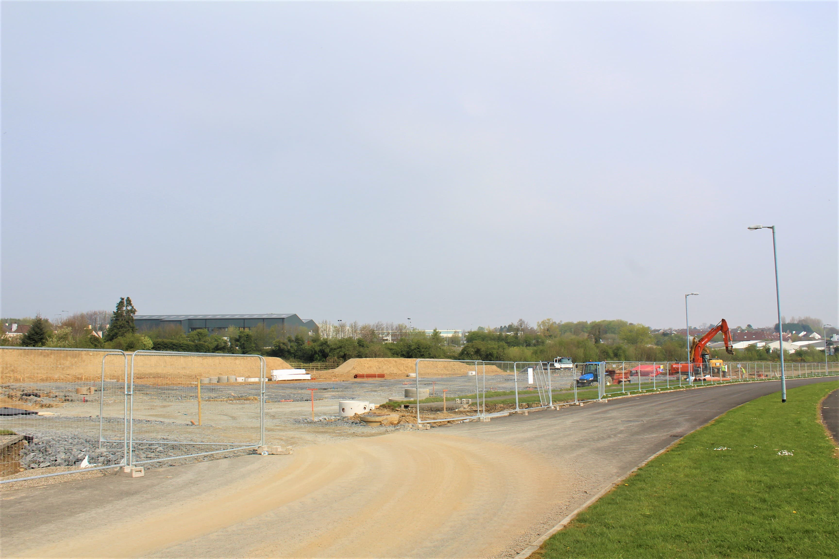 Strabane Business Park – Factory Build – Week 2