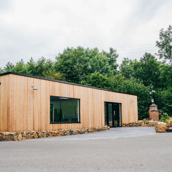 Finn Lough Reception Modular Building KES Group Modular Construction Company