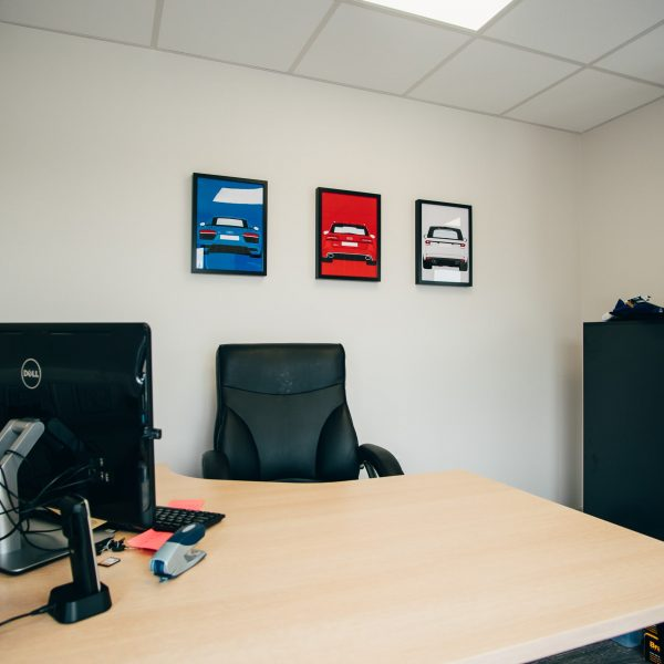 AC Auto Sales, Luxury Modular Managers Office , KES Group
