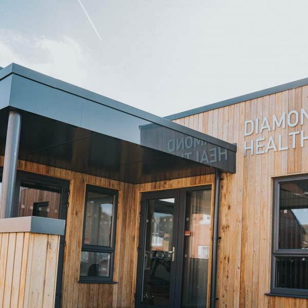 KES Group, Offsite Construction Company in Omagh, Bespoke Modular Building for Diamond Health Club, Belfast