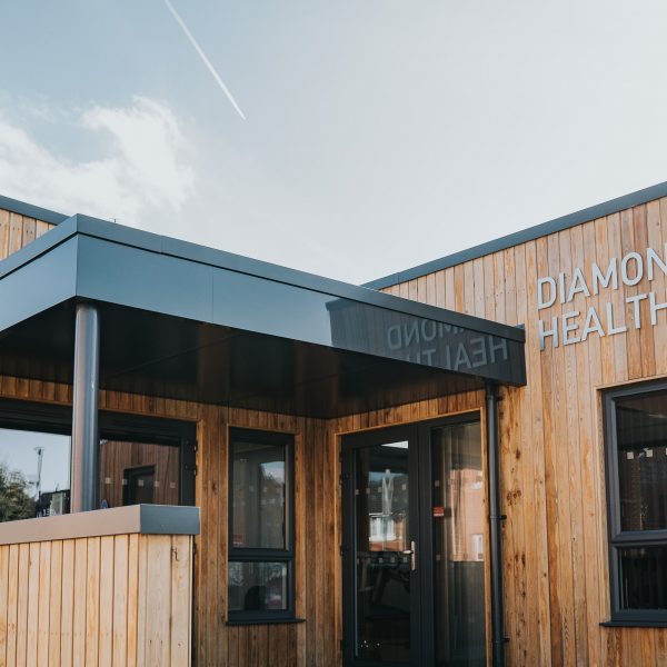 KES Group, Offsite Construction Company in Omagh, Bespoke Modular Buildings for Diamond Health Club