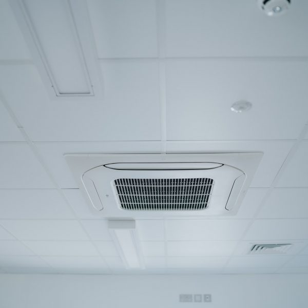 Modular Construction Company, Ceiling Cassette Air Conditioned Heating and Cooling System