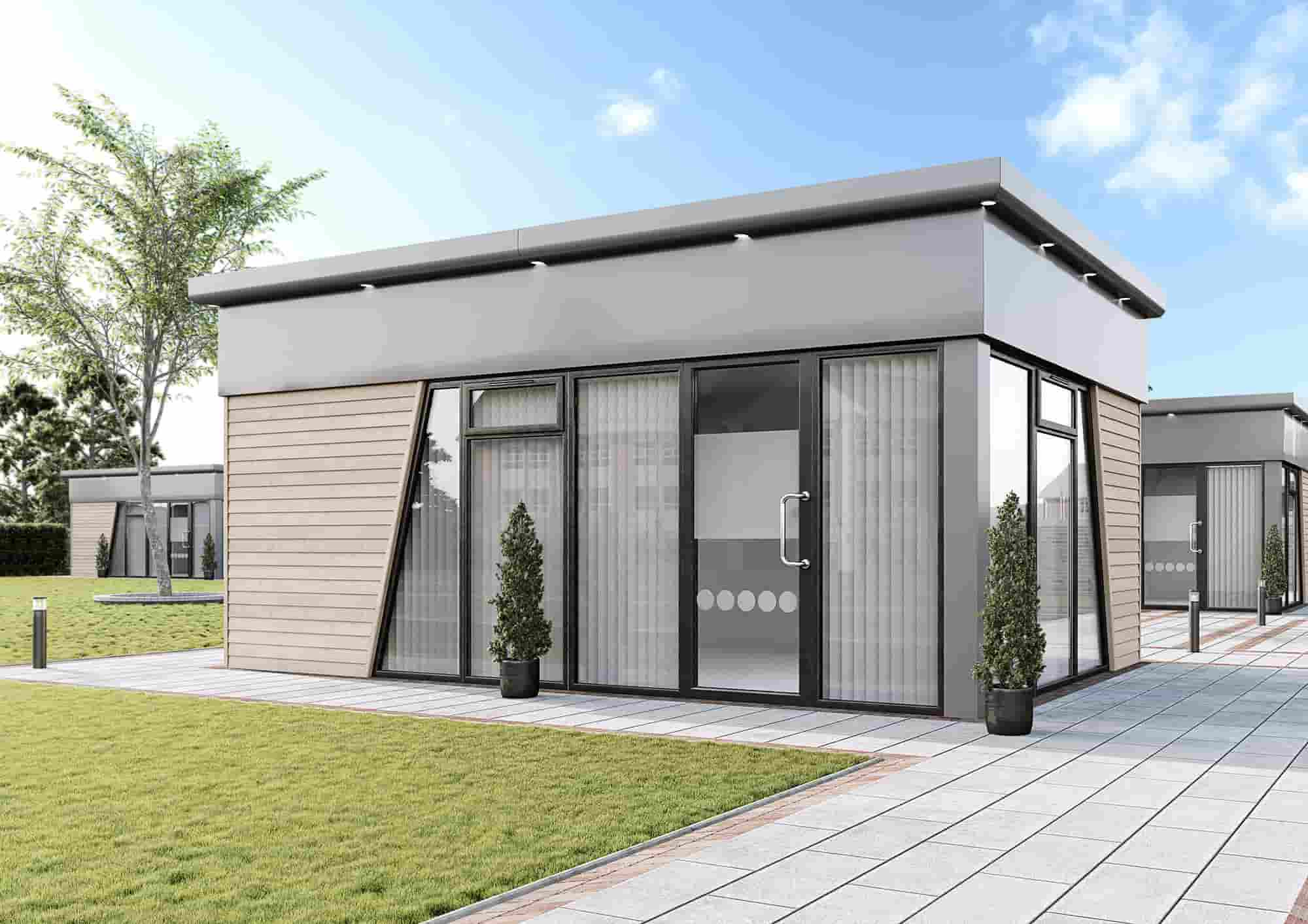 At KES Group, our SmartBuild modular buildings provide you with the opportunity to create a custom-built area, tailored to suit your needs when working from home.