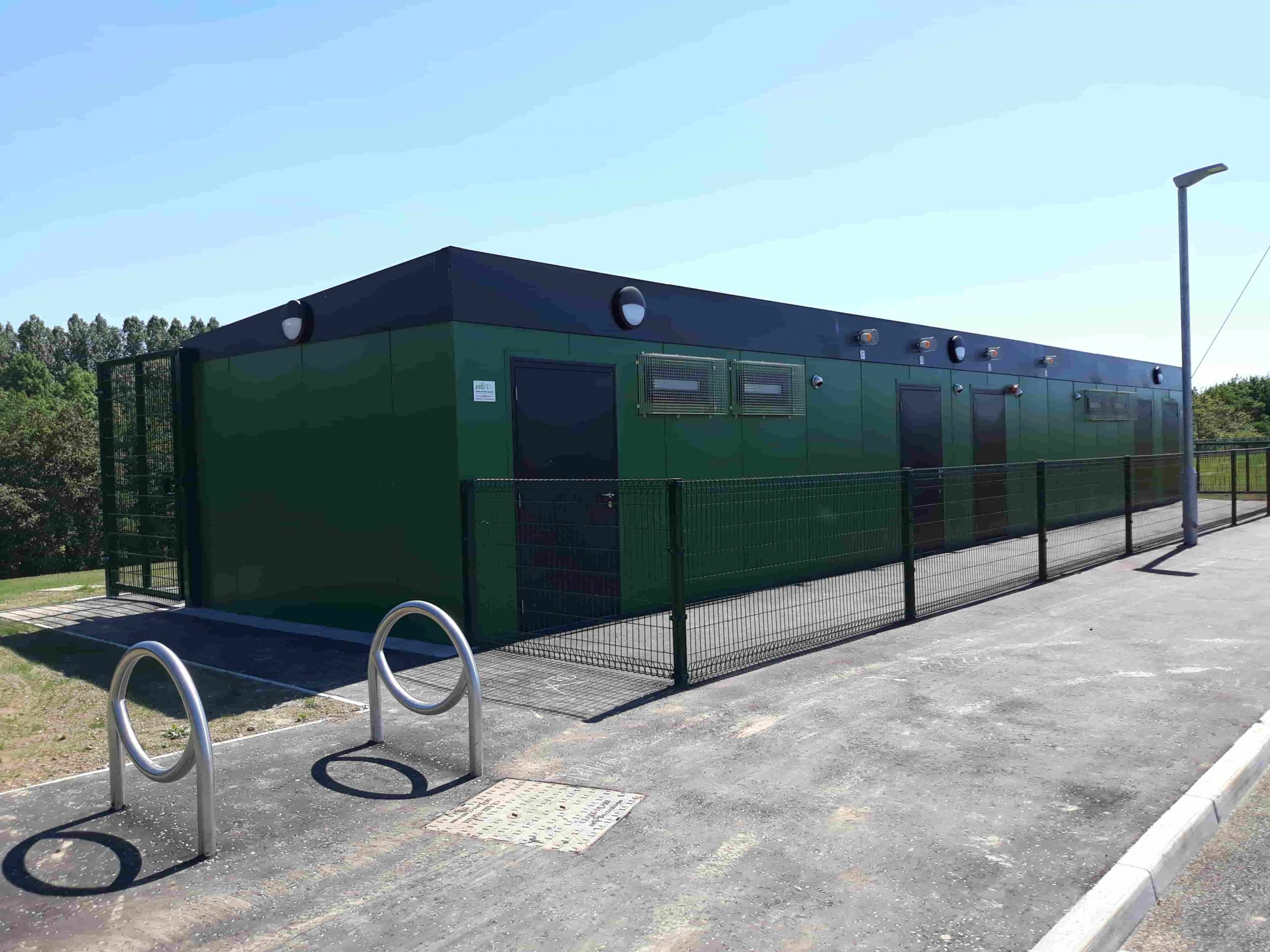 Modular changing rooms for Derry City & Strabane District Council