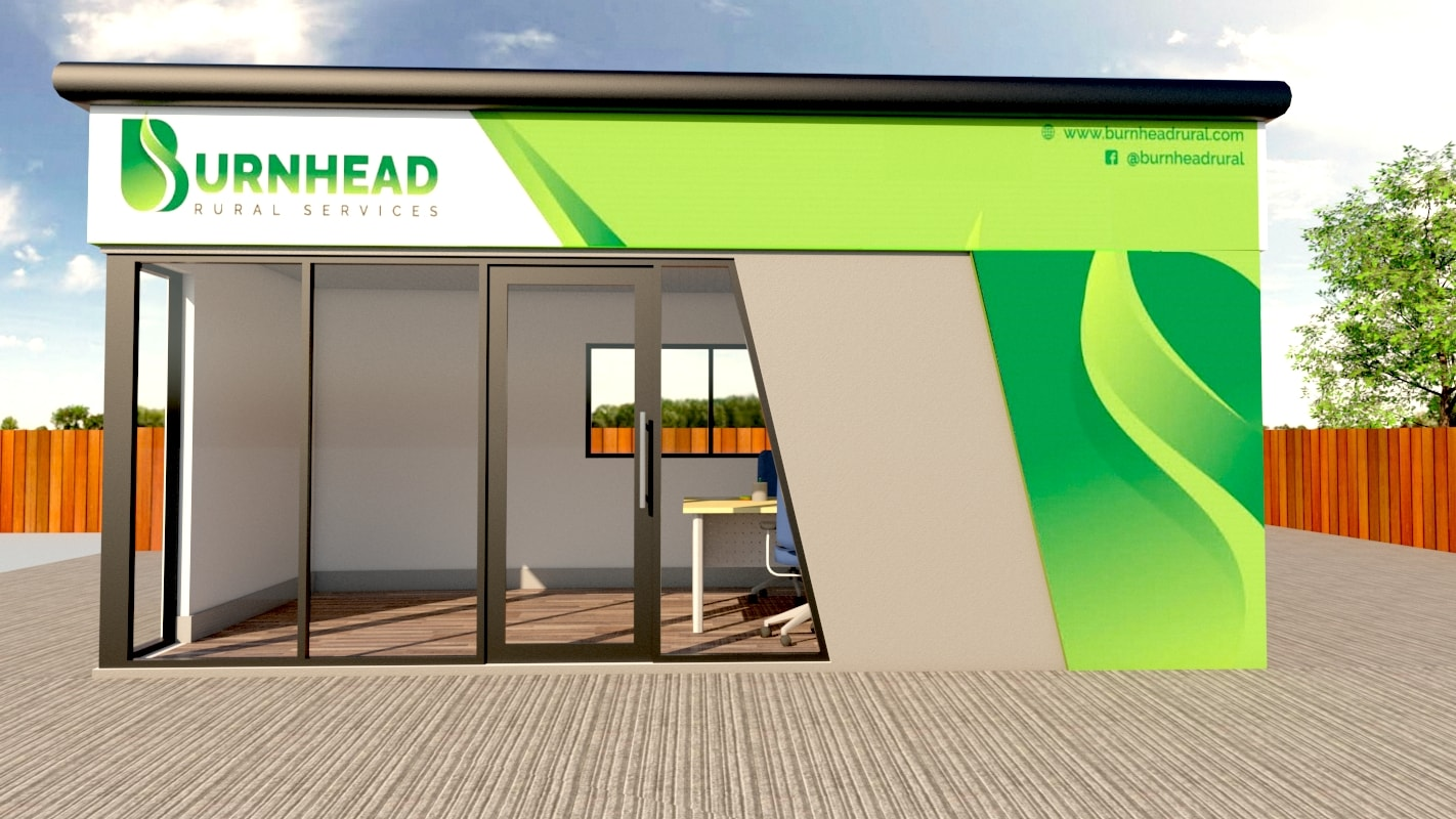 Modular Office Building Space for Burnhead Rural Services