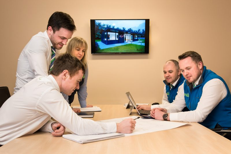 KES Group staff at work Omagh Co Tyrone