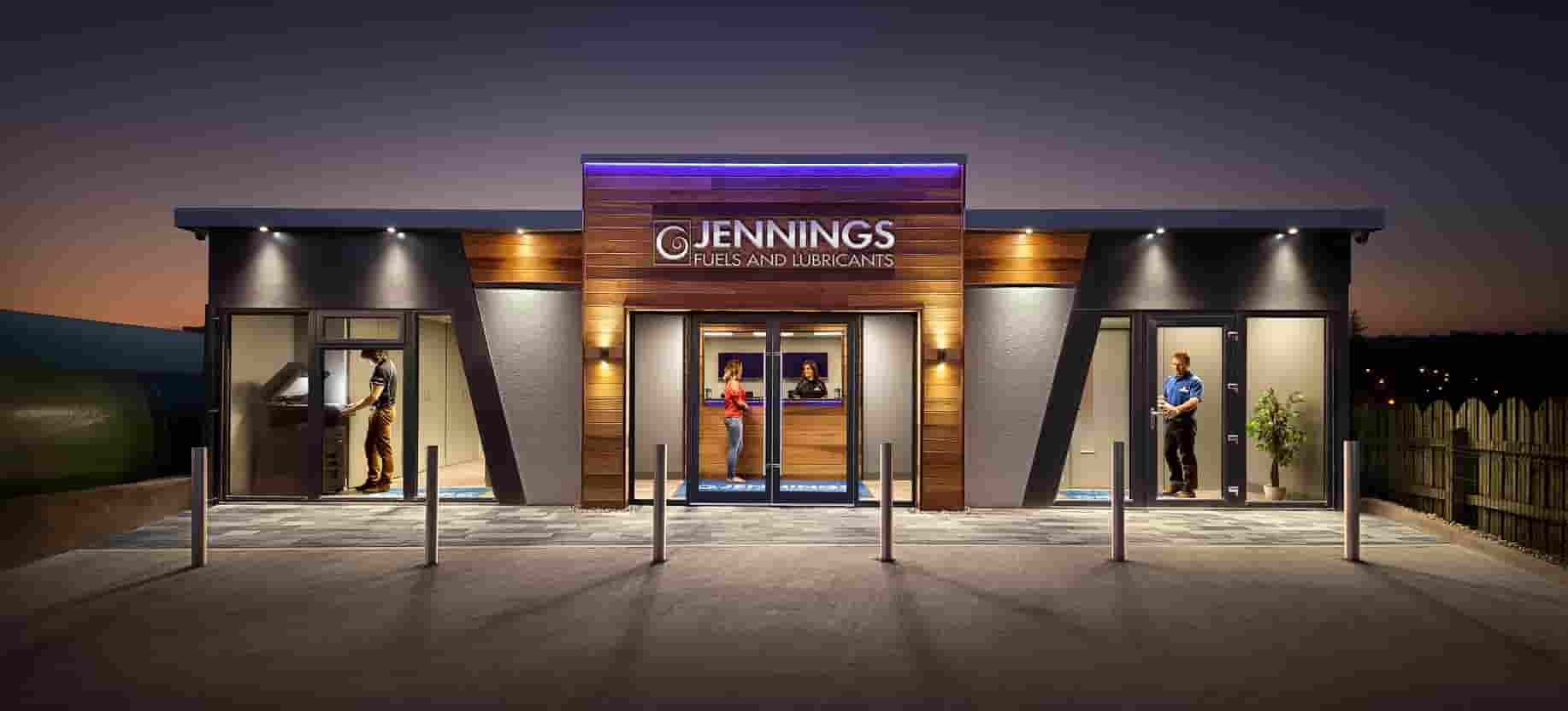 Jennings Fuels and Lubricants, Modular Office, KES Group