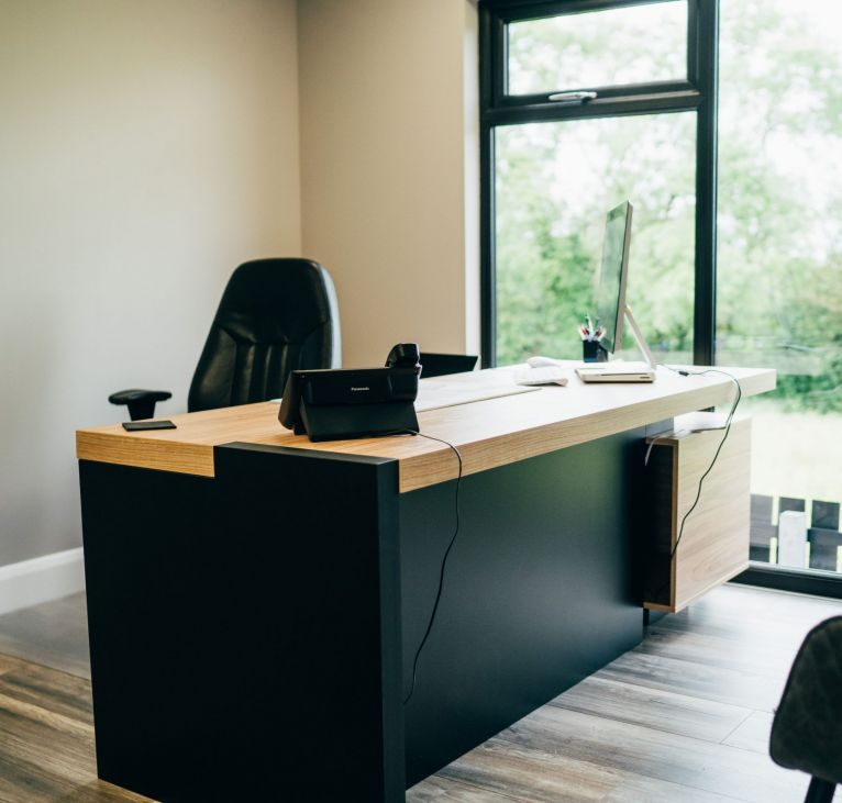 Modular Office work area Modular Building System desk space off site construction KES GROUP