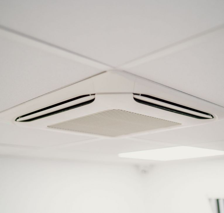 ceiling vents modular office