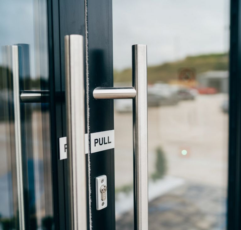 KES Group Modular office door turnkey package construction provider