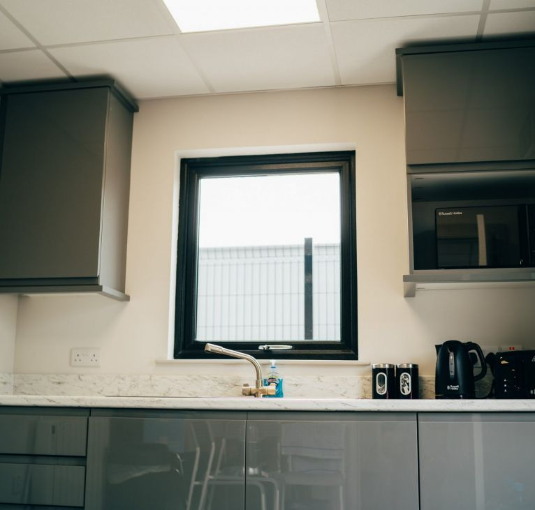 off site construction modular kitchen office KES Group