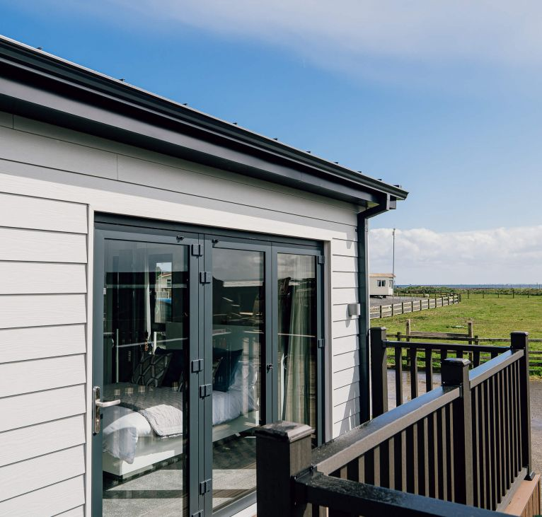 holiday lodge windows out doors turnkey